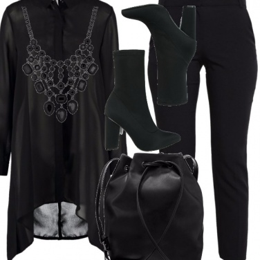 Outfit Back to black