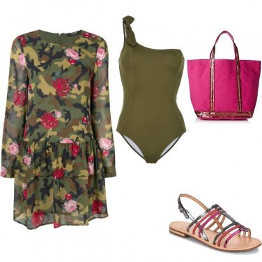 Outfit Mimetic beach style