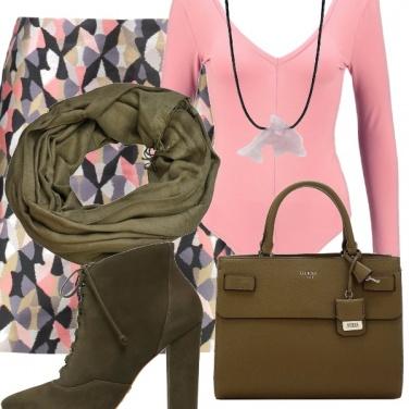 Outfit Quarzo e kaki