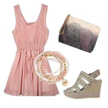 Outfit Rose night