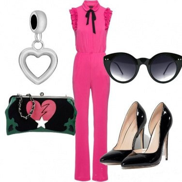 Outfit Tuta pink