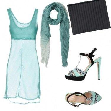 Outfit Verdeacqua