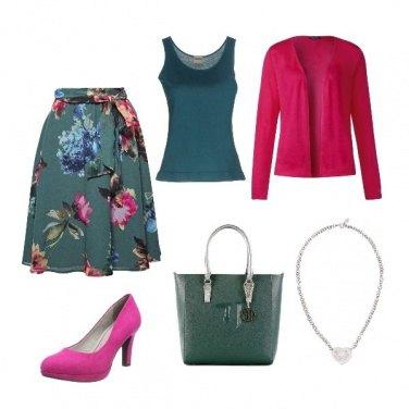 Outfit Giornata a fiori