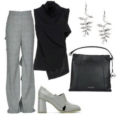 Outfit Stoffa avvolgente