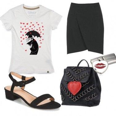 Outfit Baci e cuori