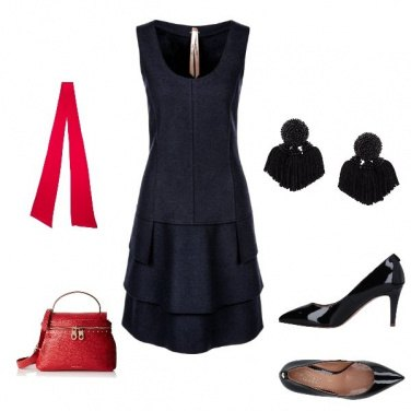 Outfit Bicolore donna