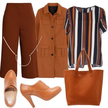 Outfit Tutte le sfumature di marrone