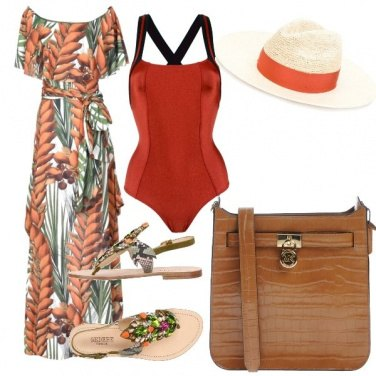 Outfit Spiaggia chic