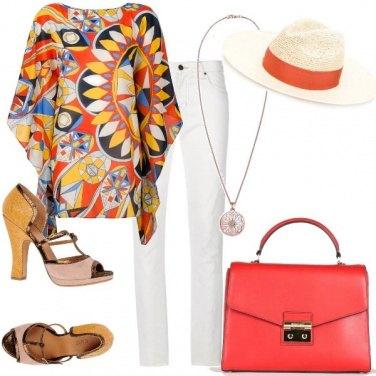 Outfit Etnico da signora in città
