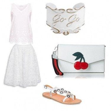 Outfit La magia del bianco