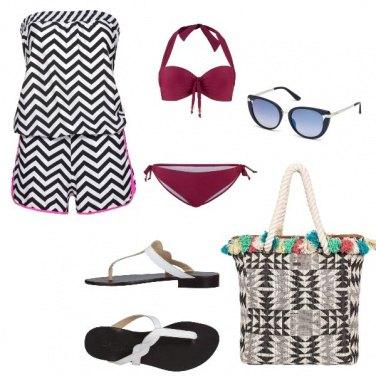 Outfit Etnico, vacanze al mare