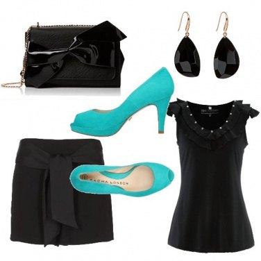 Outfit La scarpa verde acqua