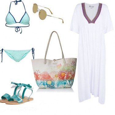 Outfit Basic, vacanze al mare
