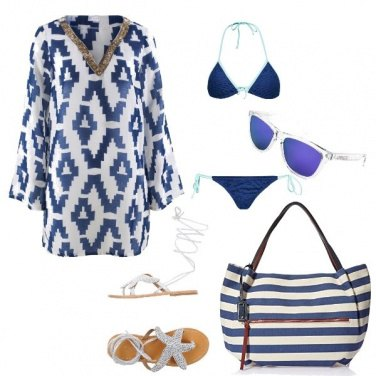 Outfit Sandali con stelle marine
