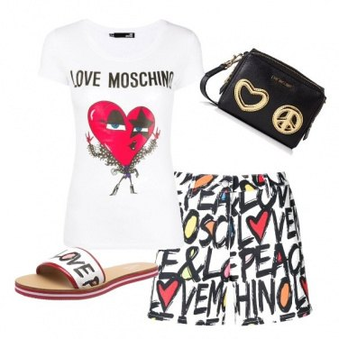 Outfit Total look Moschino
