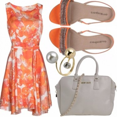 Outfit Orange passion