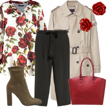 Outfit Rose rosse