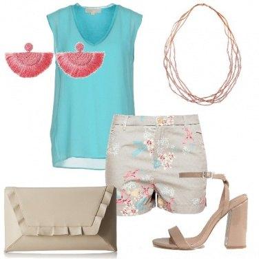 Outfit Shorts fantasia