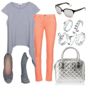 Outfit Albicocca