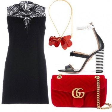 Outfit Un papavero rosso