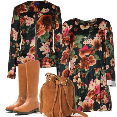 Outfit Double flowers