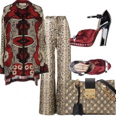 Outfit Per una signora alla moda
