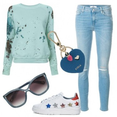 Outfit Vacanze fashion in montagna