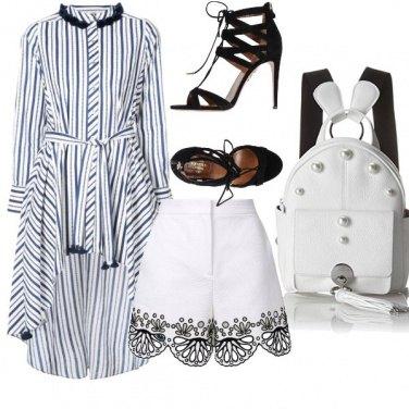 Outfit Tacchi e shorts