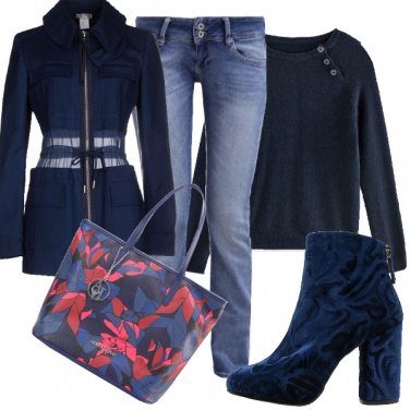 Outfit Total blue!