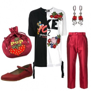 Outfit Fumetto disco look