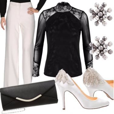 Outfit Chic in black and white