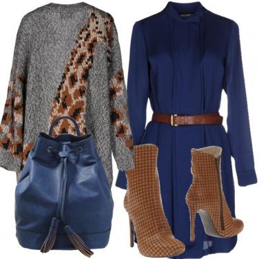 Outfit La grinta del blu