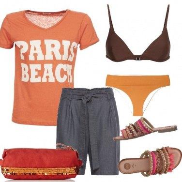 Outfit Piccola pochette da spiaggia