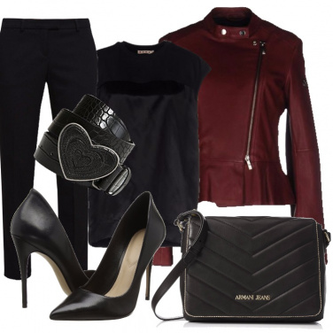 Outfit Biker stiloso
