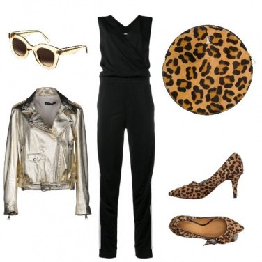 Outfit Oro+animaliEr= Non passare inosservata