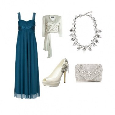 Outfit Cerimonia luccicante