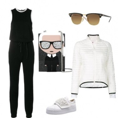 Outfit Sport chic stile