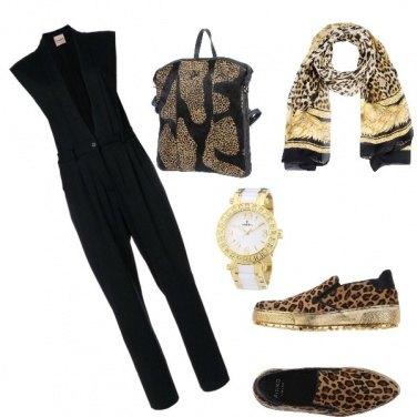 Outfit Sport animalier