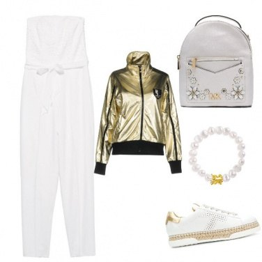 Outfit Ranocchio sport chic