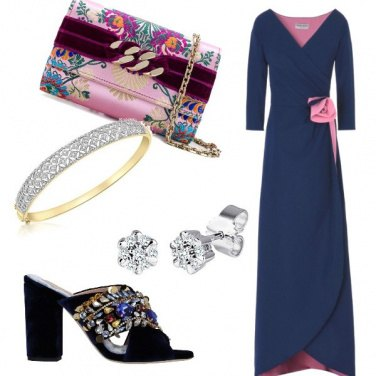 Outfit Rosablu
