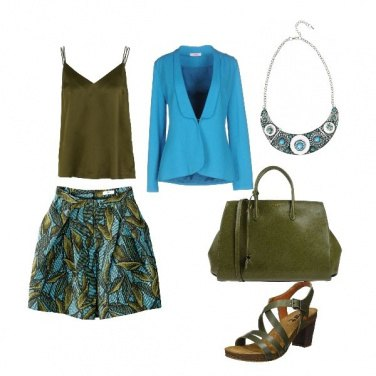 Outfit Jungle chic
