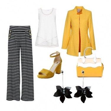 Outfit Allegria tutta gialla