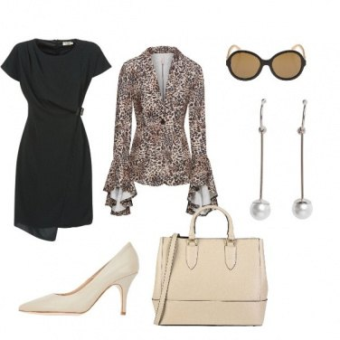 Outfit Animalier superchic
