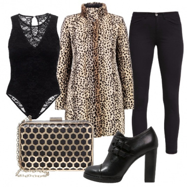 Outfit Animalier invernale