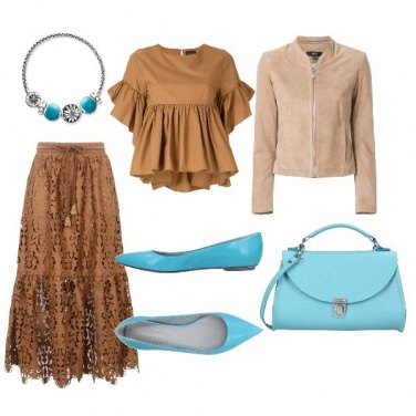 Outfit Pochaontas style