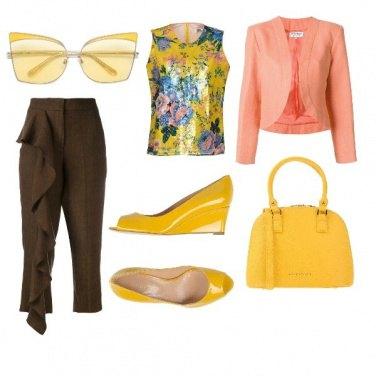 Outfit Super colorato per l'ufficio