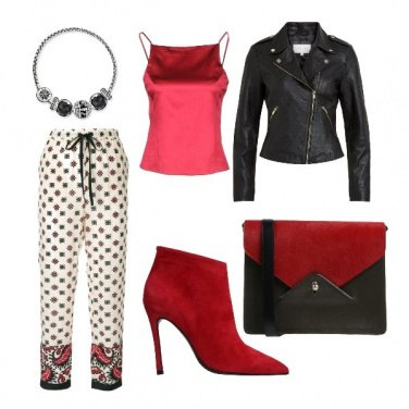 Outfit Pantaloni pigiama supersexy