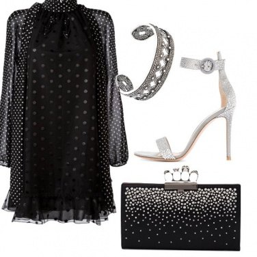 Outfit Chic con pochi dettagli