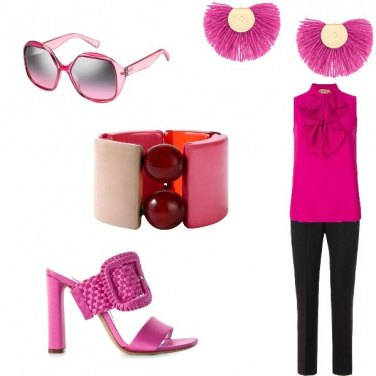 Outfit Pink manager