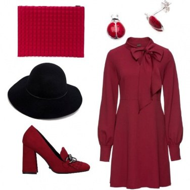 Outfit Colori autunnali e un pizzico di fortuna